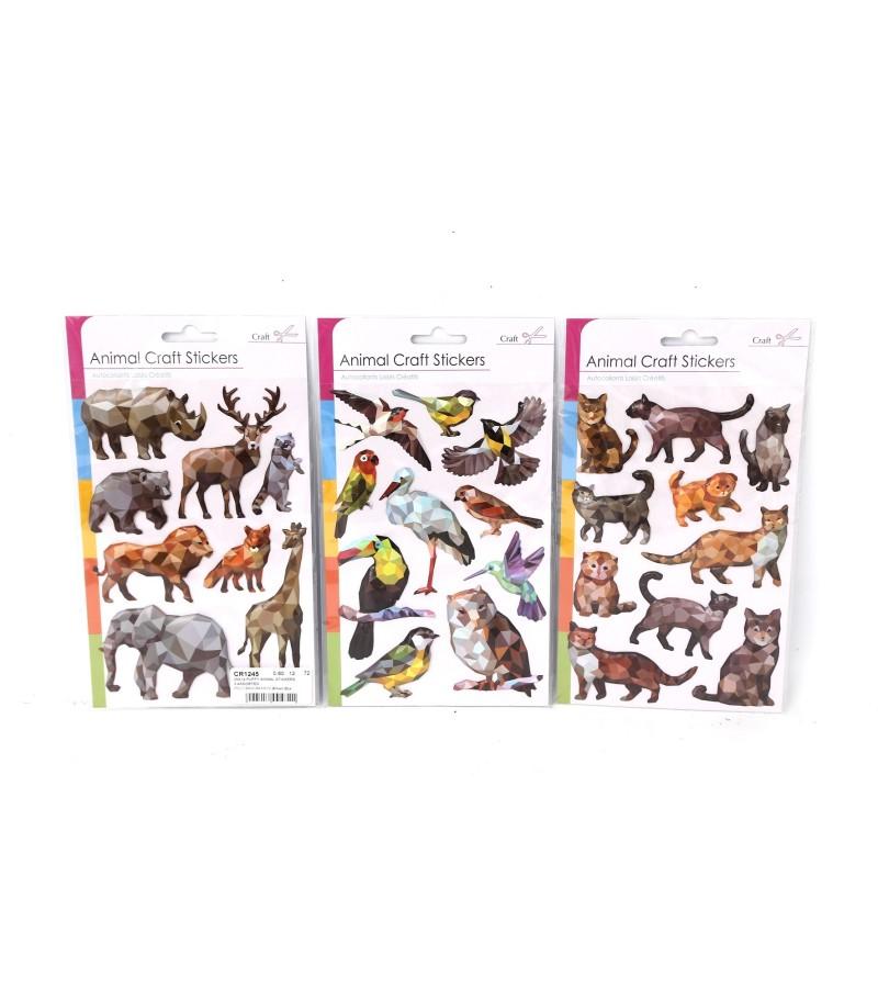 Animal Craft Stickers