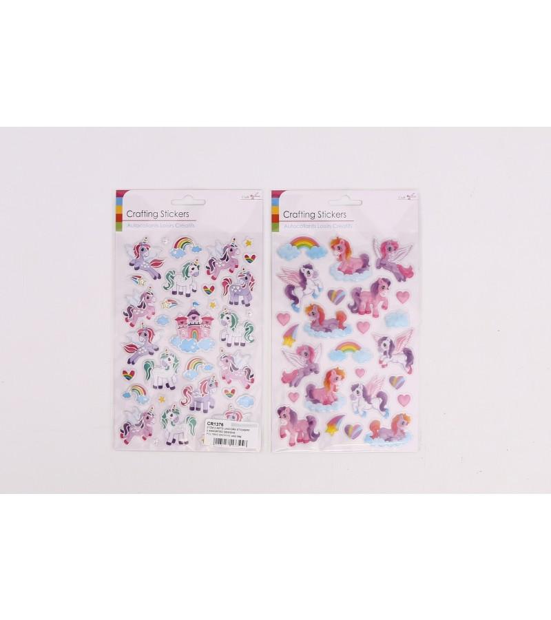 Crafting Stickers - Unicorns