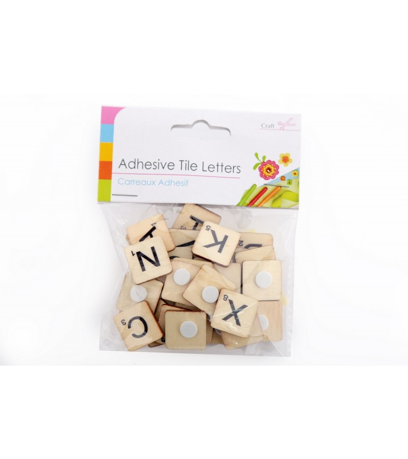 Adhesive Tile Letters