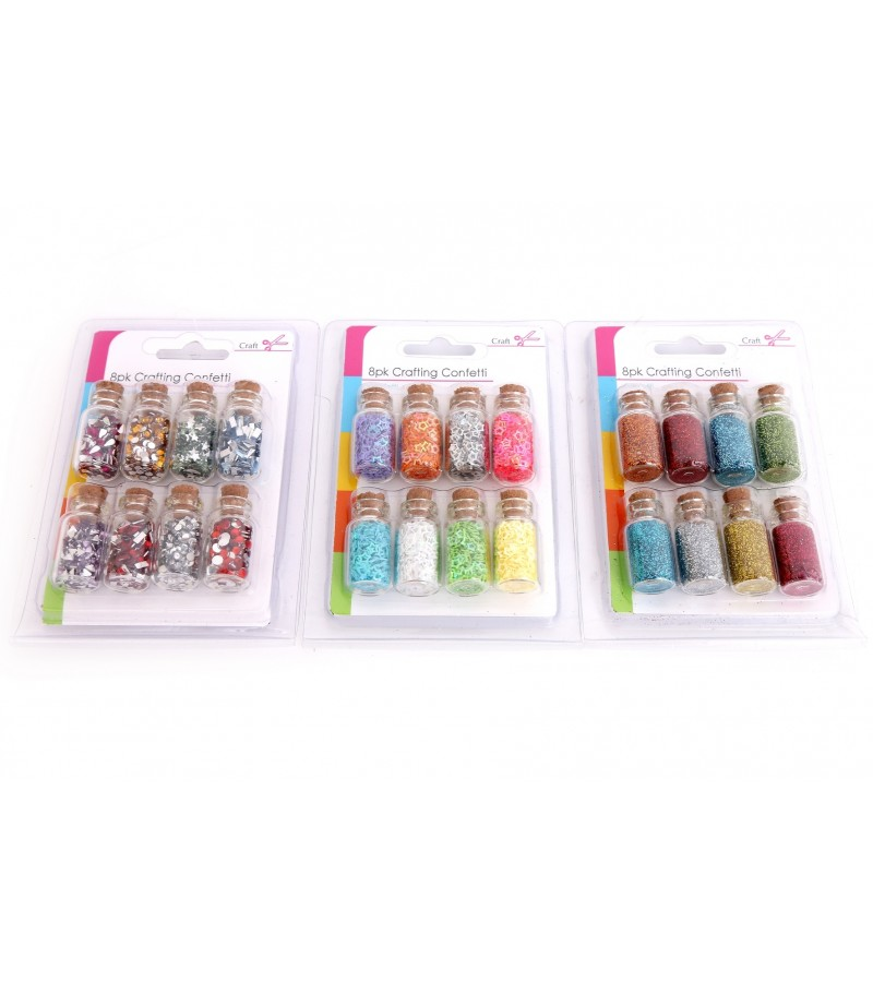 Crafting Confetti (8 Pack)