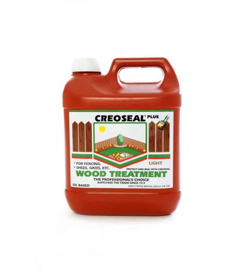Creoseal Wood Treatment 4L Light Brown