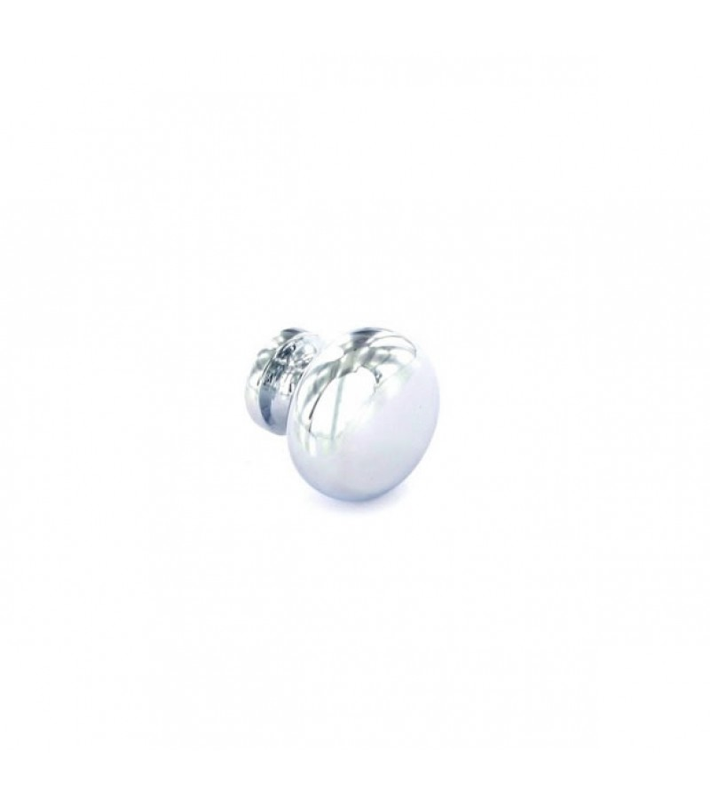 Securit S3526 30mm Round Knobs Chrome (2 Pack)