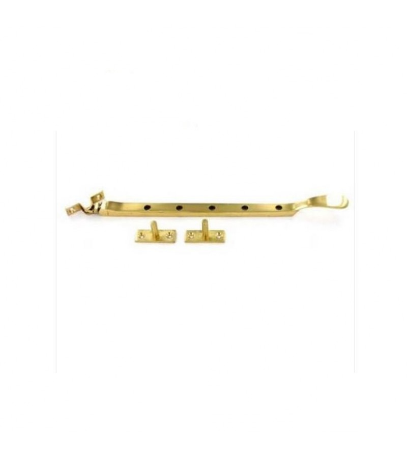 Securit S2281 Victorian Casement Stay Swan Style 250mm