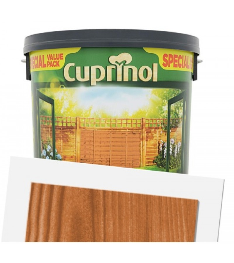 CuCuprinol Less Mess Fence Care 6L Autumn Gold