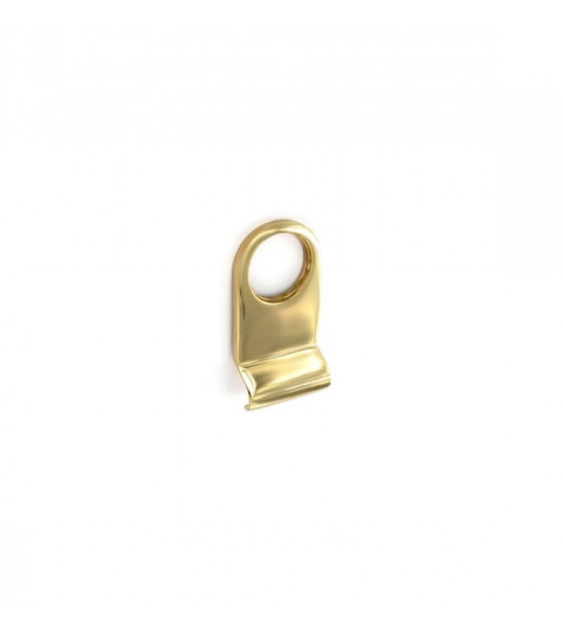 Securit S2255 Victorian Cylinder Pull (Brass)