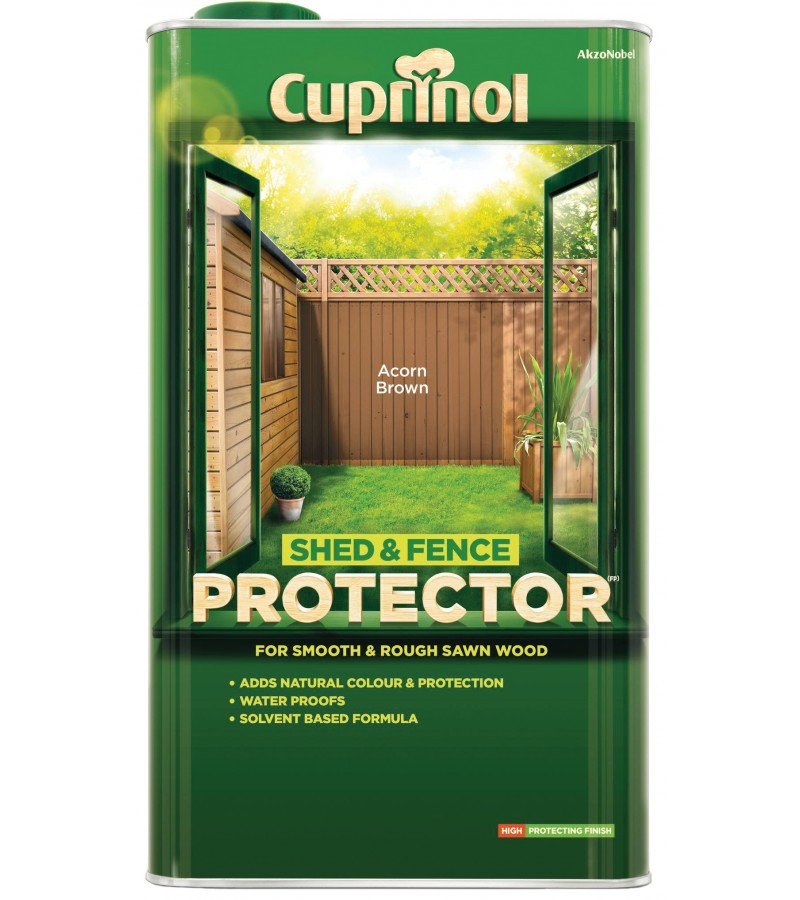Cuprinol Shed & Fence Protector 5L Golden Brown