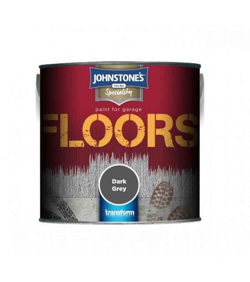Johnstone's Garage Floor Paint 750ml Dark Grey