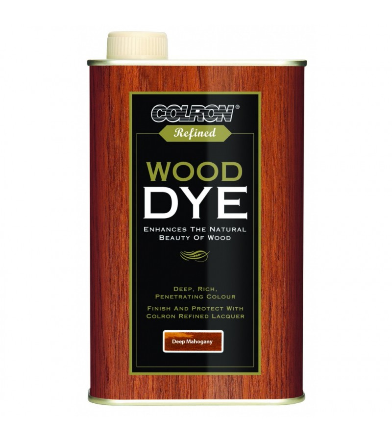 Ronseal Colron Wood Dye 250ml Deep Mahogany