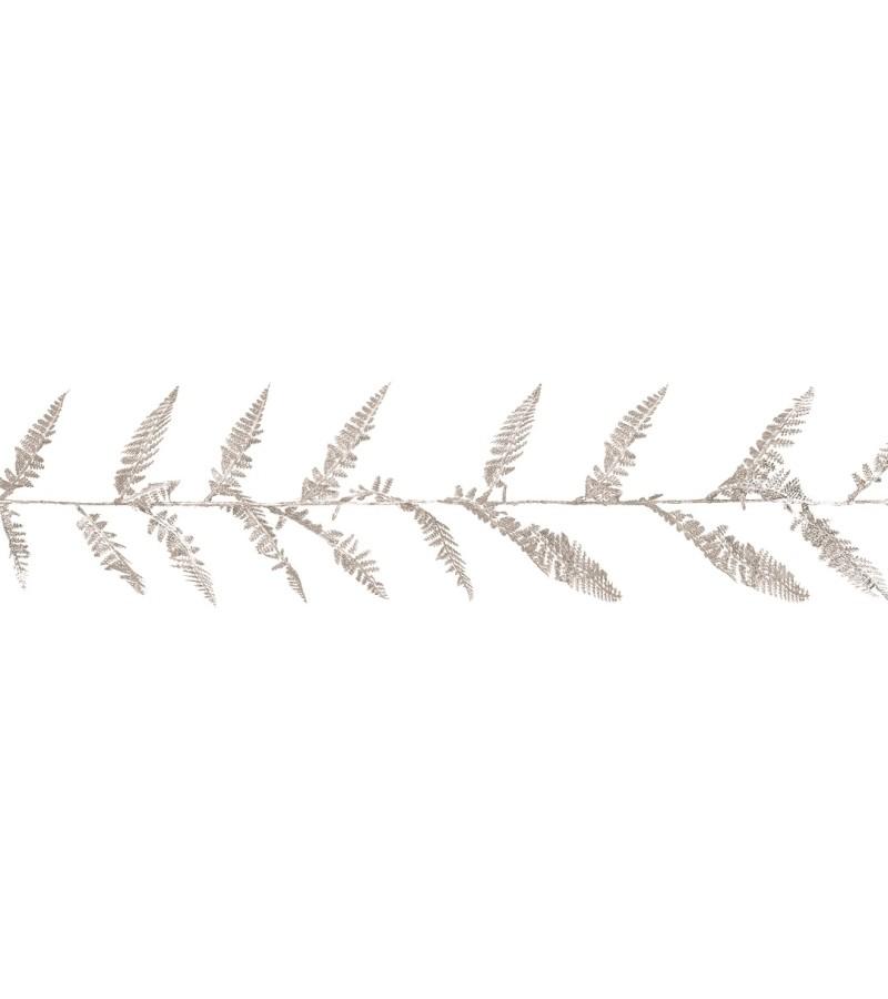 Premier Christmas Glitter Fern Garland 1.8m Silver