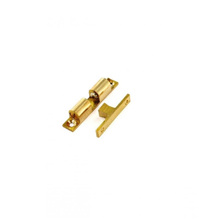 Securit S5426 42mm Brass Double Ball Catch (2 Pack)