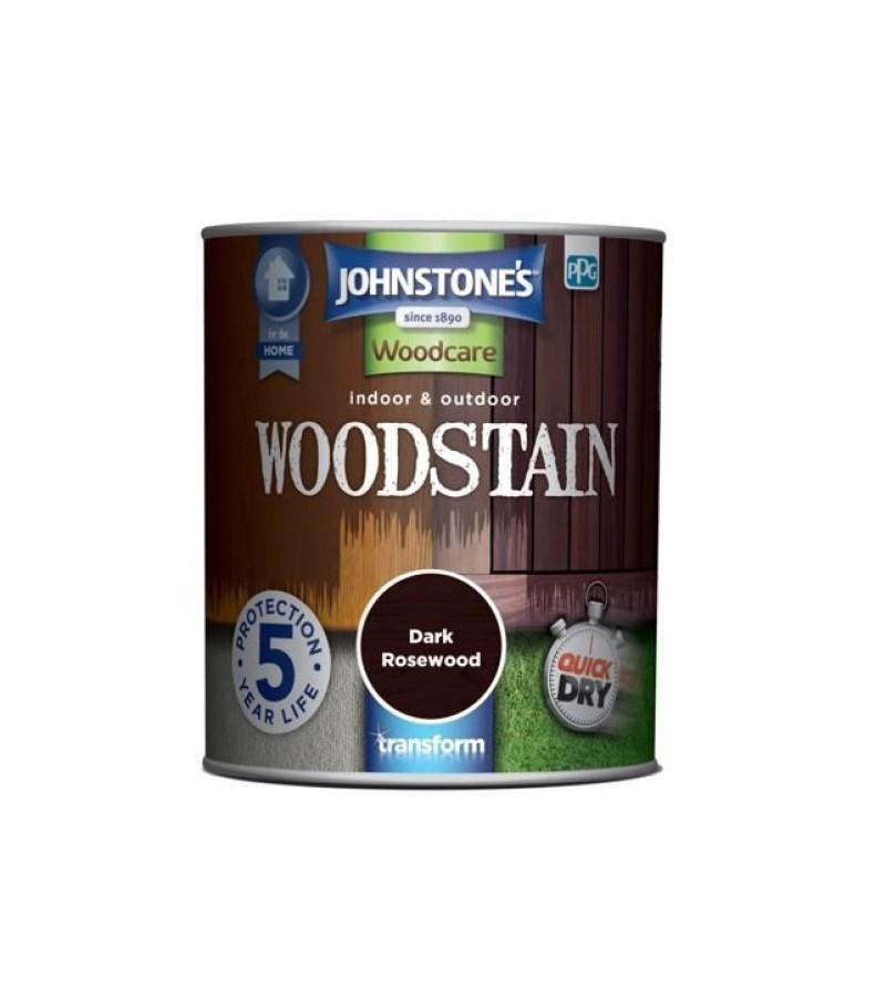 Johnstones Indoor & Outdoor Wood Stain 2.5L Dark Rosewood
