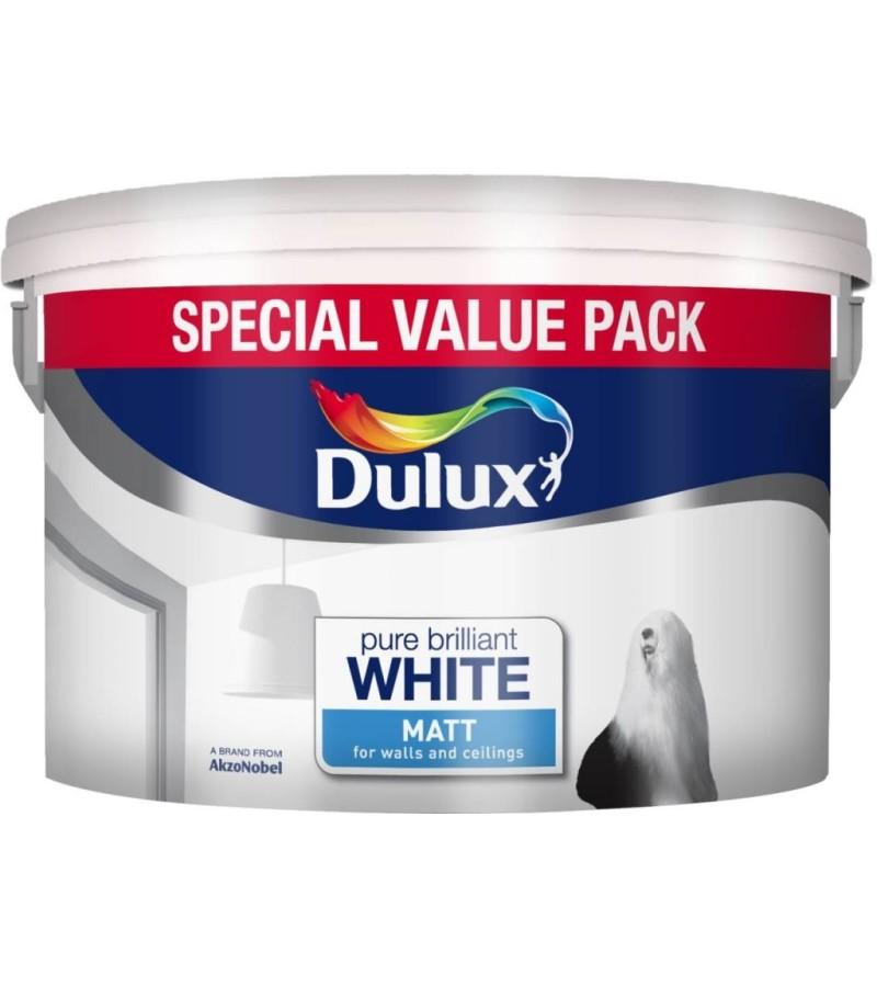 Dulux Matt White 7L