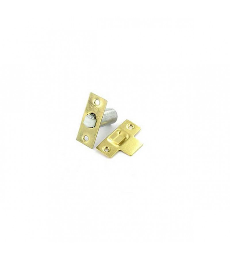 Securit S5421 Adjustable Roller Catch Electro Brass