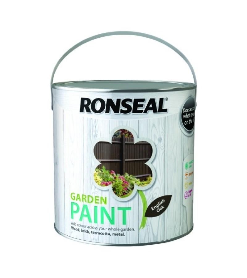 Ronseal Garden Paint 2.5L English Oak