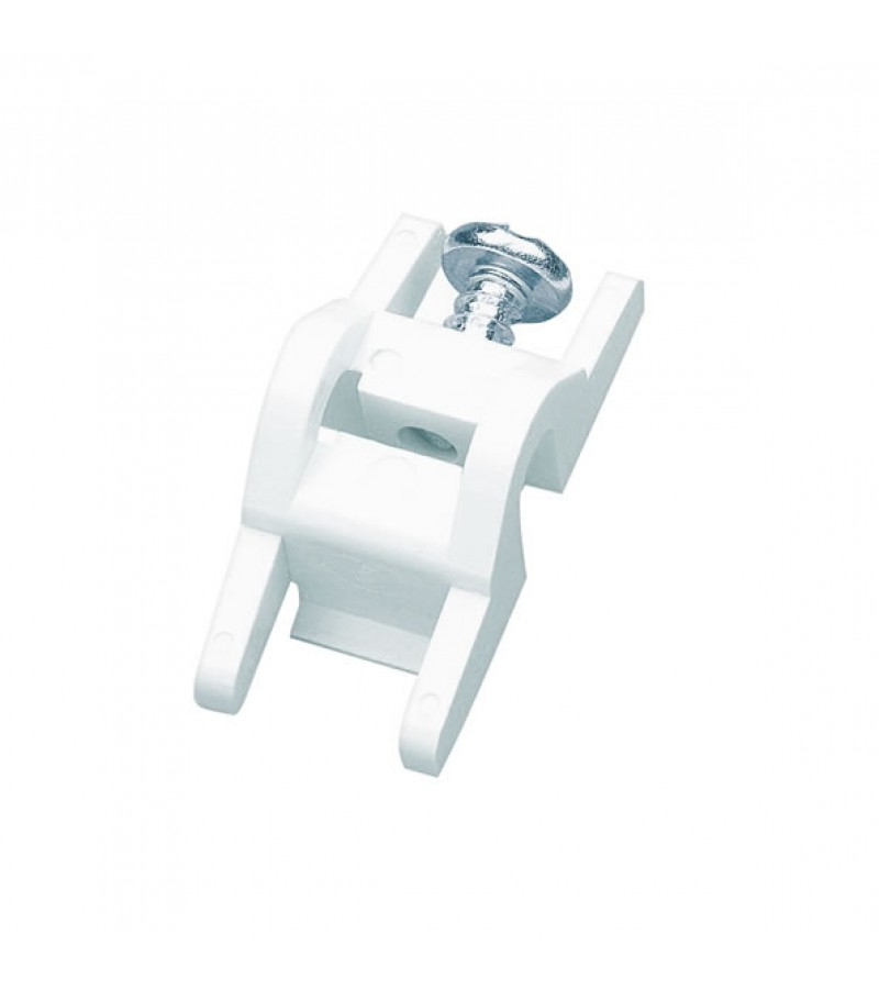 Integra Monorail & Decorail End Stops (2 Pack) White
