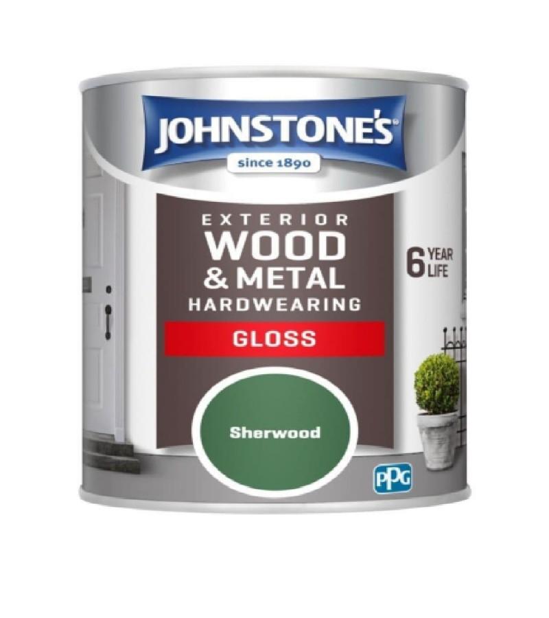 Johnstones Exterior Gloss 750ml Sherwood