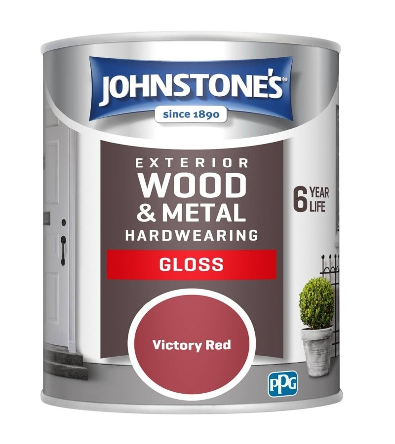Johnstones Exterior Gloss 750ml Victory Red