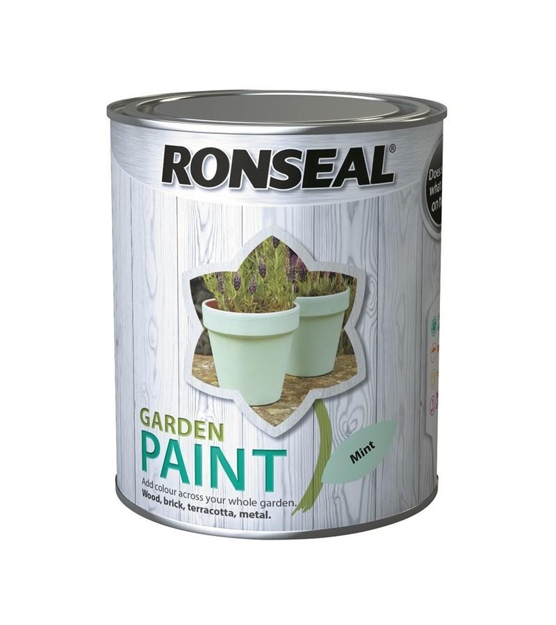 Ronseal Garden Paint 750ml Mint
