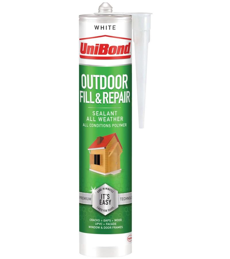Unibond Outdoor Fill & Repair Sealant Cartridge - White