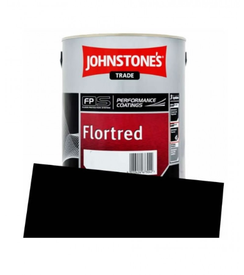 Johnstone's Trade Flortred 5L Black