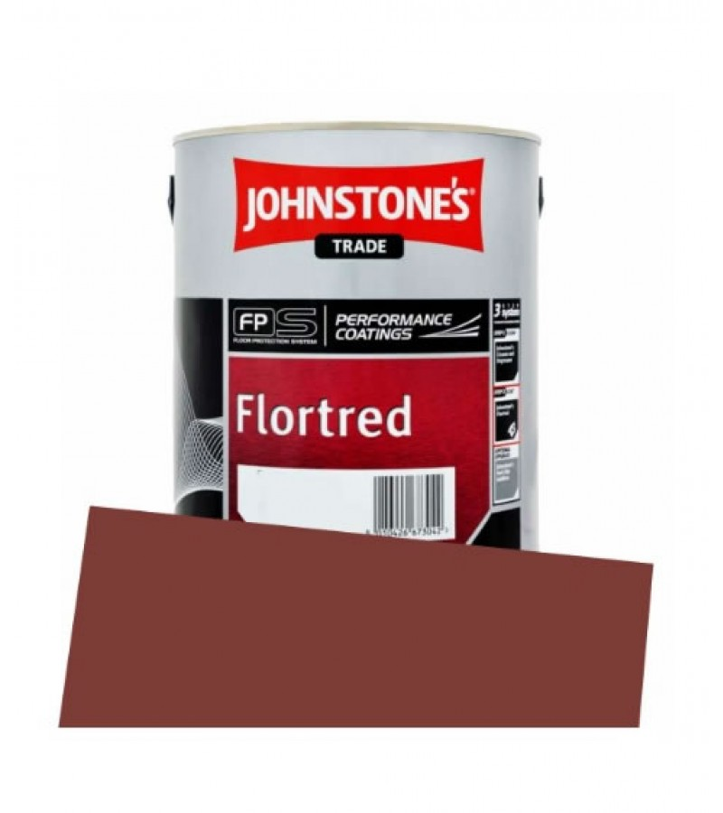 Johnstone's Trade Flortred 5L Tile Red