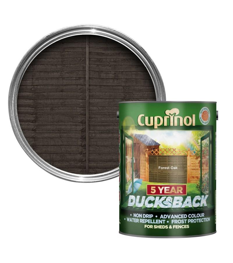 Cuprinol 5 Year Ducksback 5L Forest Oak