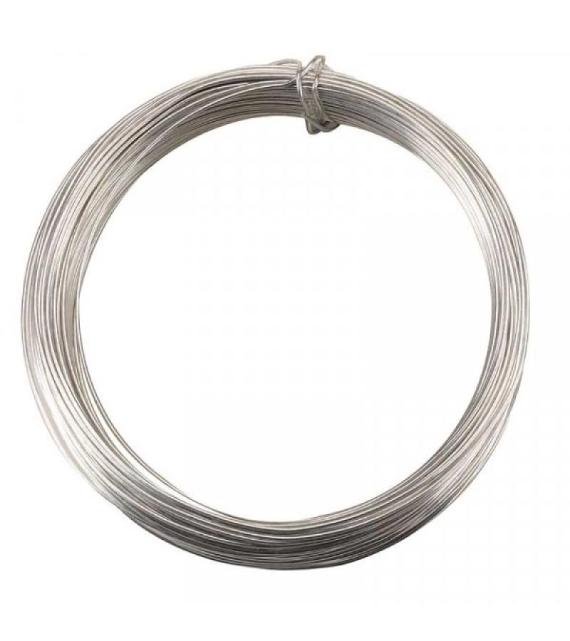 Garden Wire, Galvanised, 1.0mm x 50m