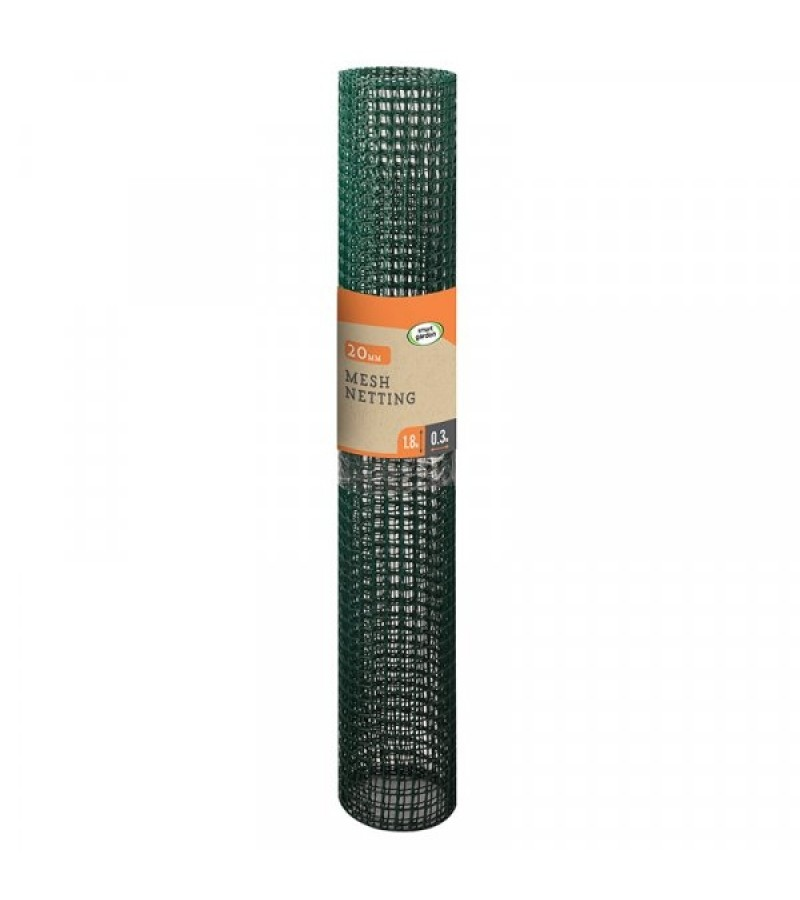 General Purpose Garden Mesh Green 20mm, 0.5m x 5m