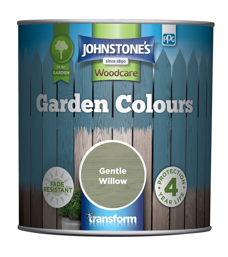 Johnstones Garden Colours Paint 2.5L Gentle Willow