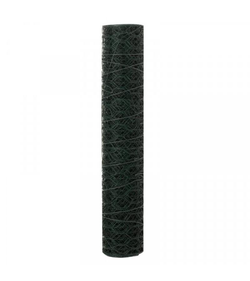 Wire Netting Green 25mm, 0.5m x 5m