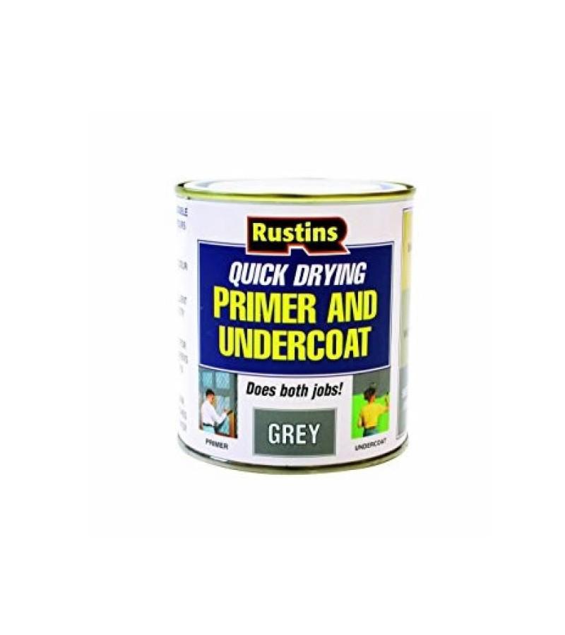 Rustins Quick Dry Primer & Undercoat 1L Grey