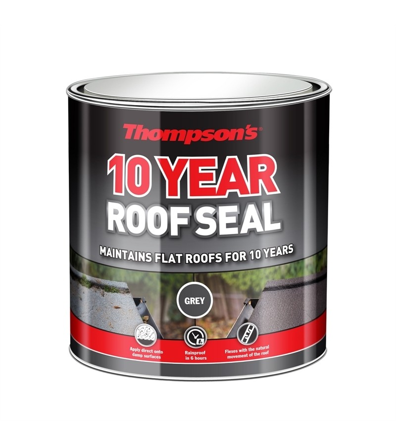 Thompsons 10 Year Roof Seal Grey 2.5L