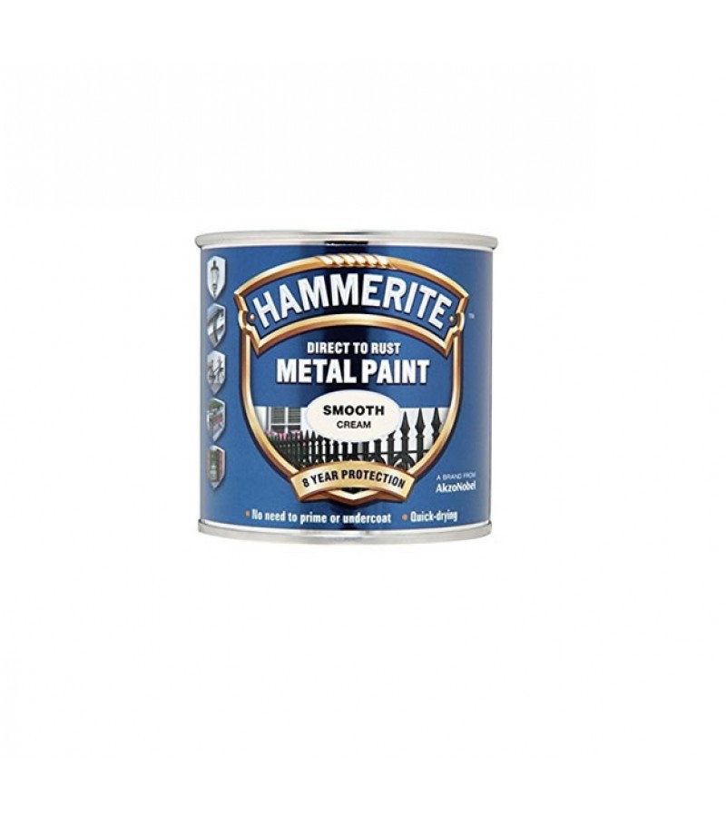 Hammerite Metal Paint 750ml Smooth Cream