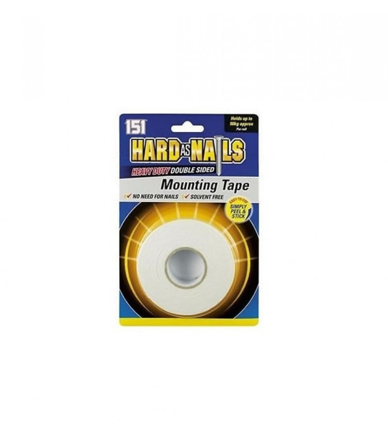 151 Hard As Nails Double Sided Mounting Tape Tony Almond