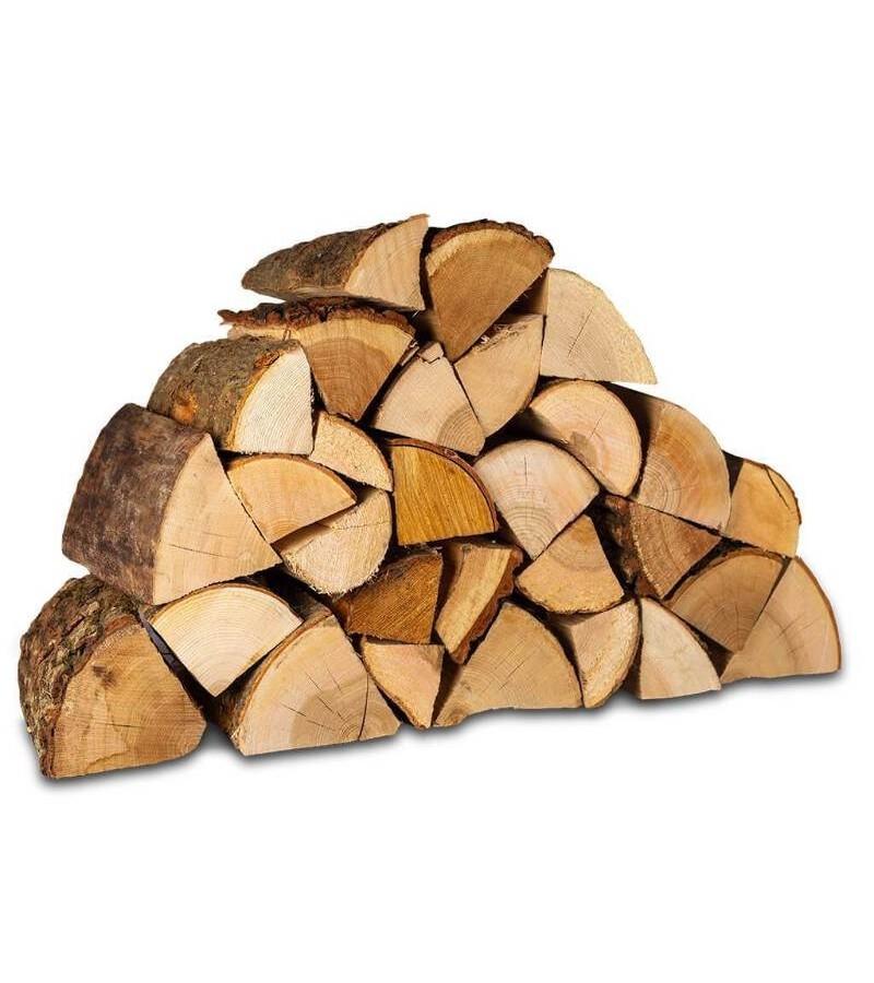 Traditional Hardwood Logs (Orange Net)