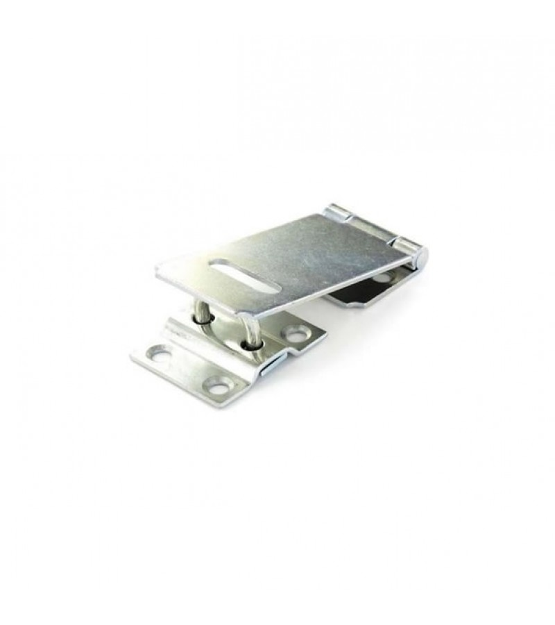 Securit S1441 Zinc Plated Safety Hasp & Staple 90mm
