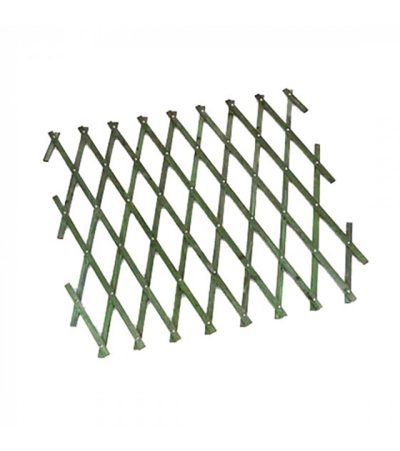 Heavy Duty Expanding Trellis 1.8 x 1.2m Green