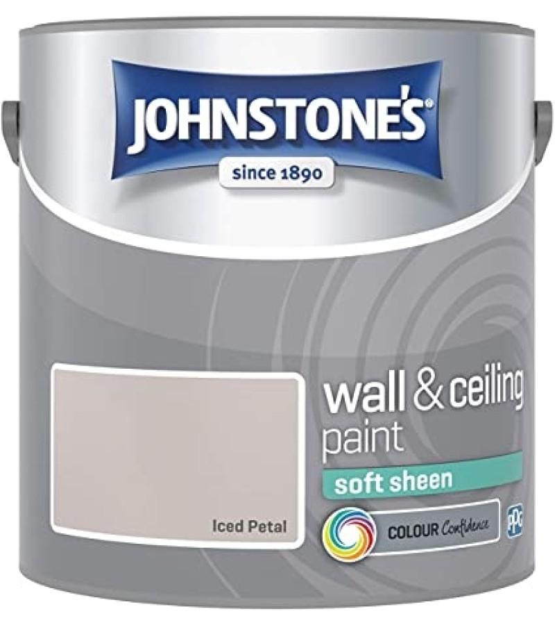 Johnstones Vinyl Emulsion Paint 2.5L Iced Petal (Soft Sheen)