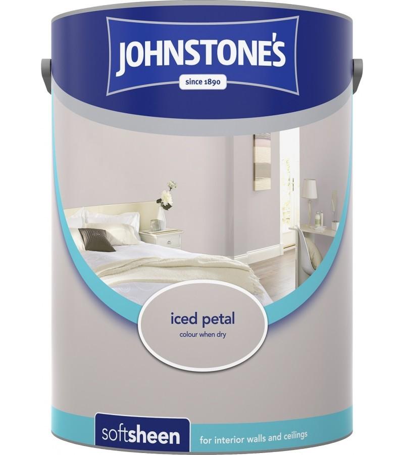 Johnstones Vinyl Emulsion Paint 5L Iced Petal Soft Sheen