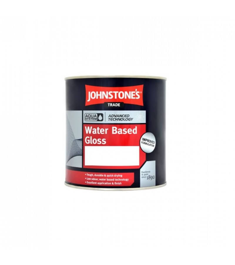 Johnstones Trade Aqua Gloss 1L White