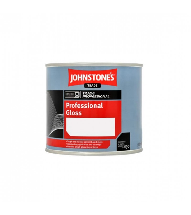 Johnstones Trade Professional Gloss 1L White