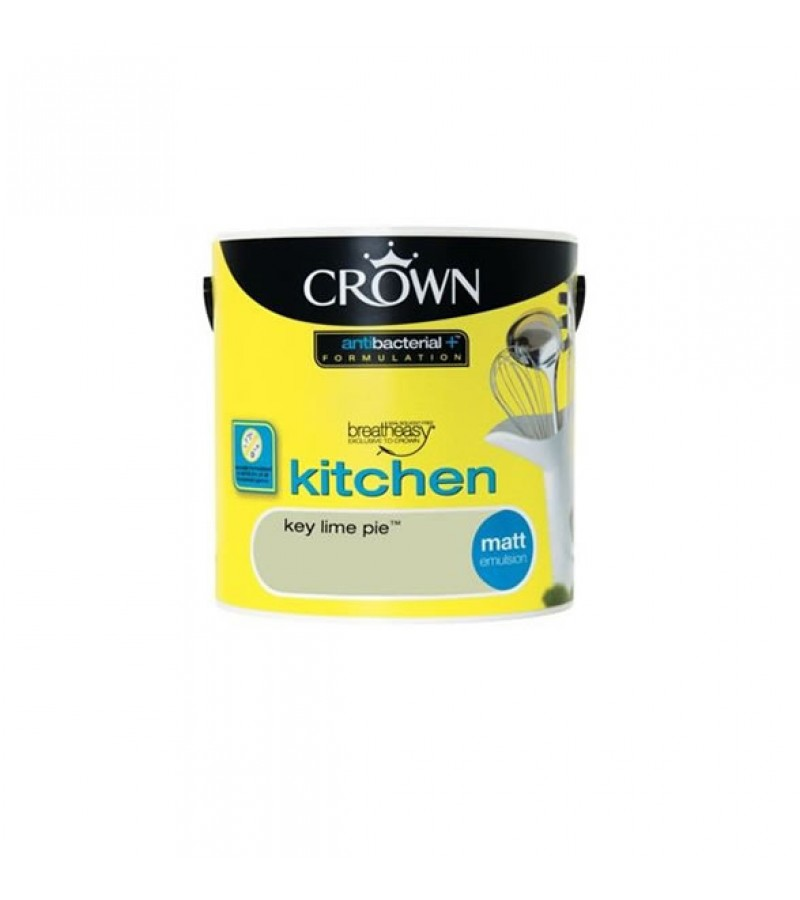 Crown Kitchen Paint 2.5L Key Lime Pie (Matt)