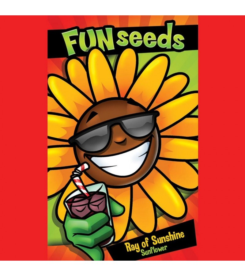 Mr Fothergill's Fun Seeds Ray Of Sunshine Sunflower Seeds (50 Pack)
