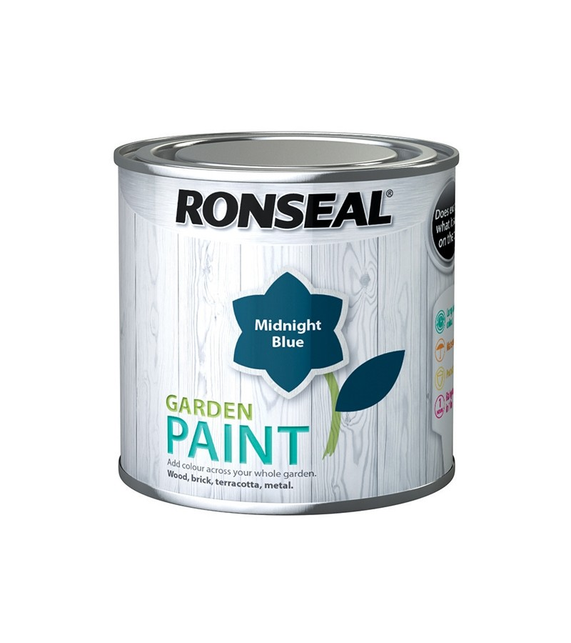 Ronseal Garden Paint 750ml Midnight Blue