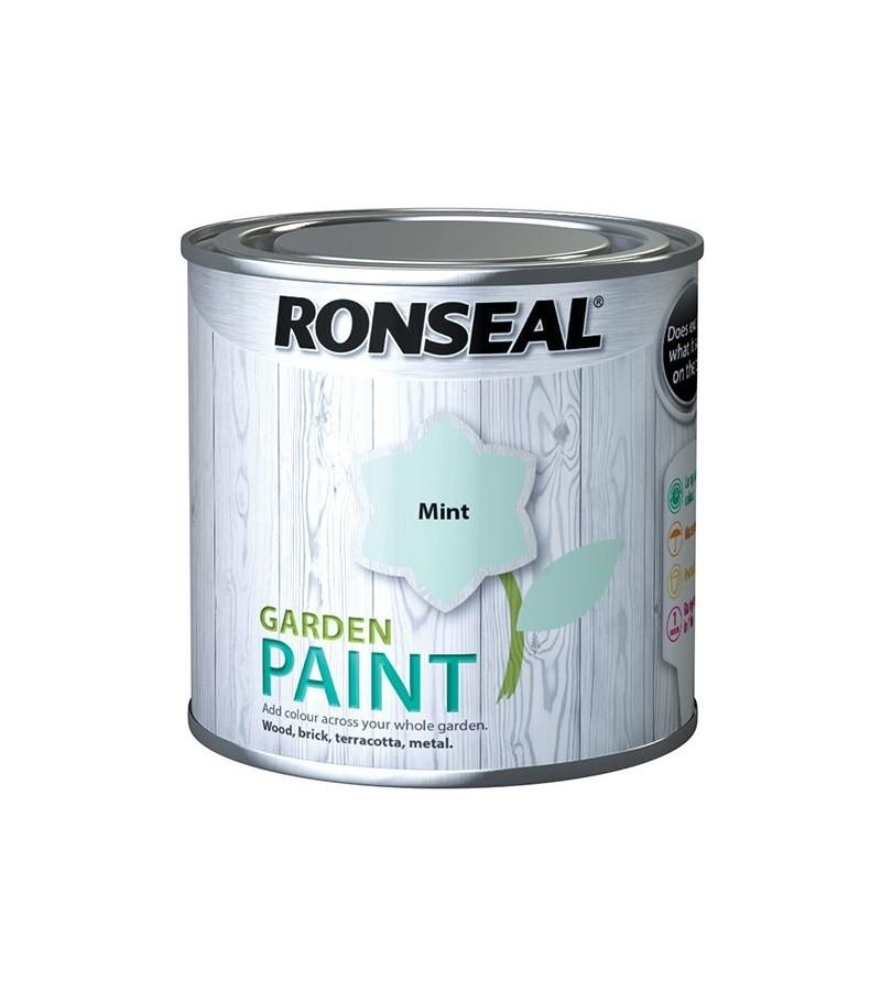 Ronseal Garden Furniture Paint 250ml Mint