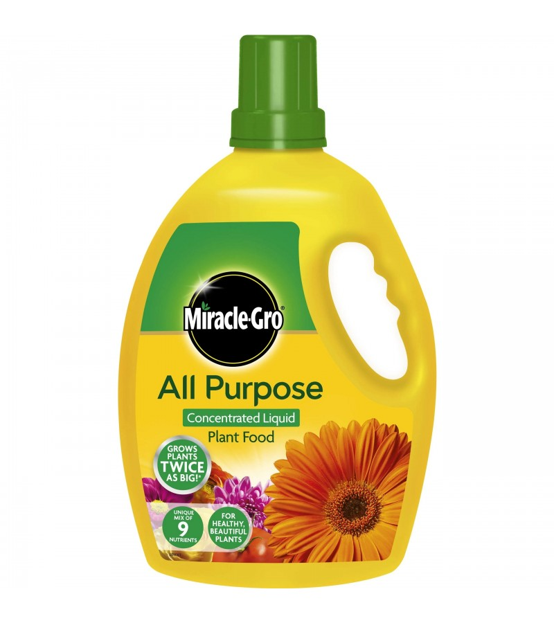 Miracle Gro All Purpose Concentrate Liquid Plant Food 25l Tony Almond