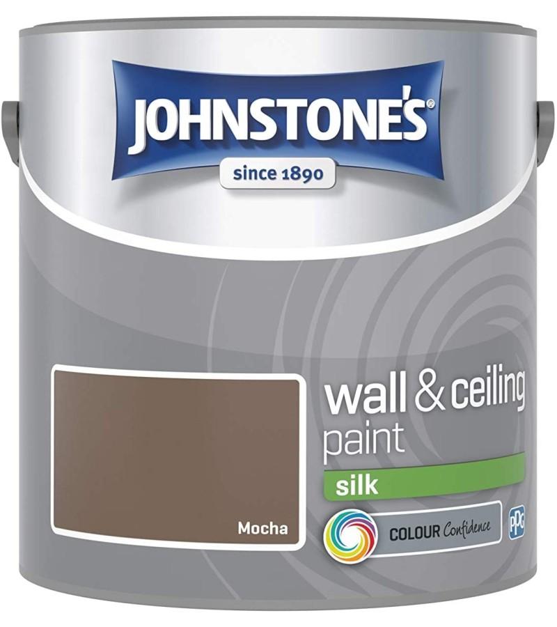Johnstones Vinyl Emulsion Paint 2.5L Mocha Silk