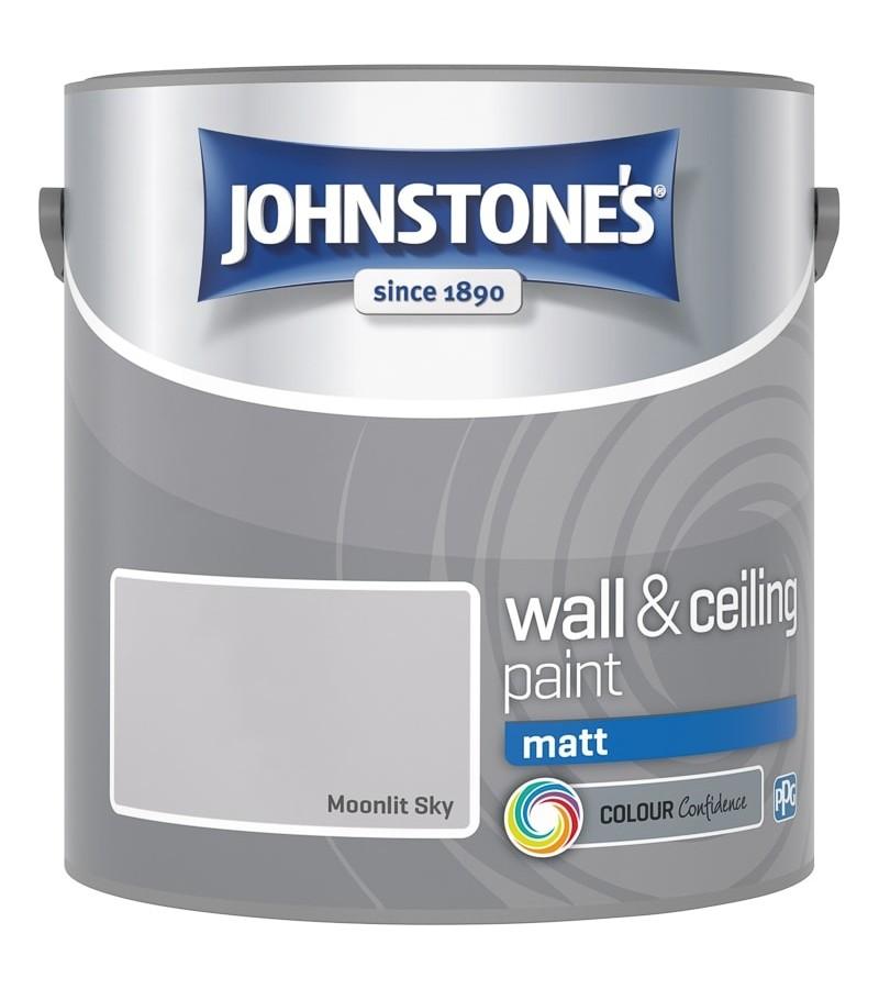 Johnstones Vinyl Emulsion Paint 2.5L Moonlit Sky (Matt)