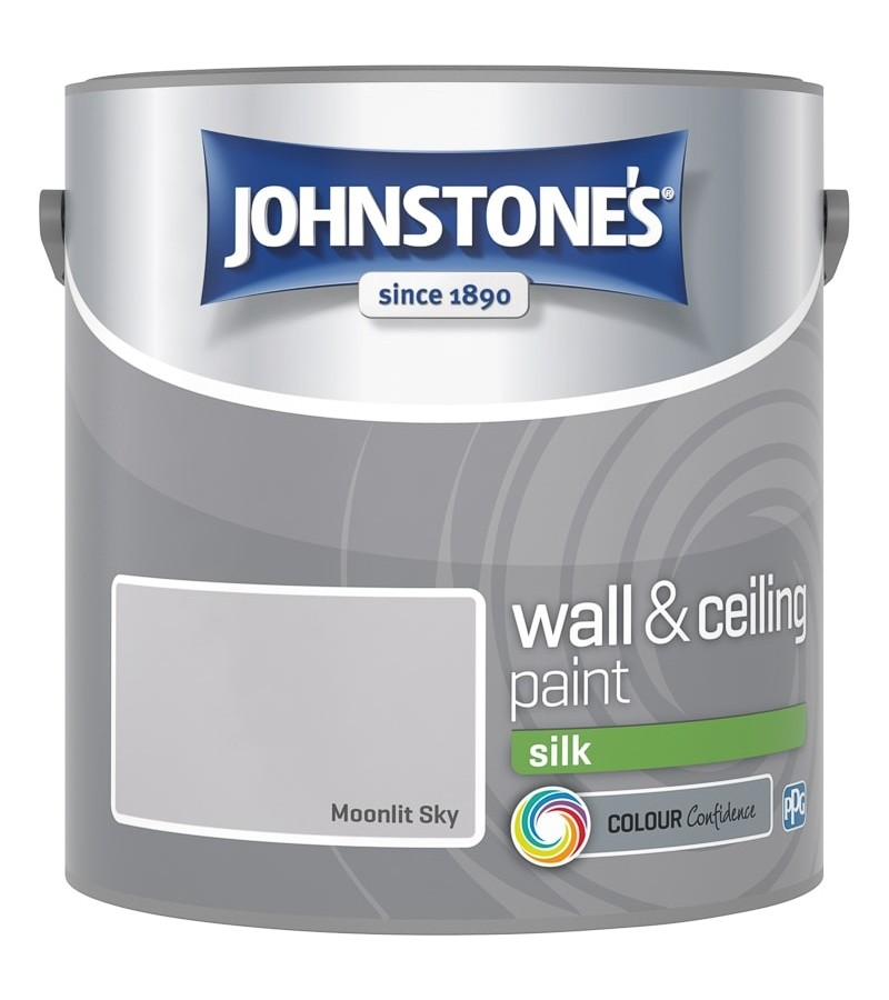 Johnstones Vinyl Emulsion Paint 2.5L Moonlit Sky (Silk)