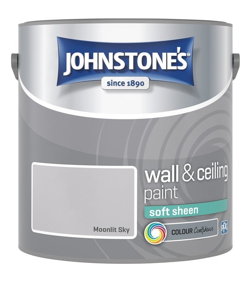 Johnstones Vinyl Emulsion Paint 2.5L Moonlit Sky (Soft Sheen)
